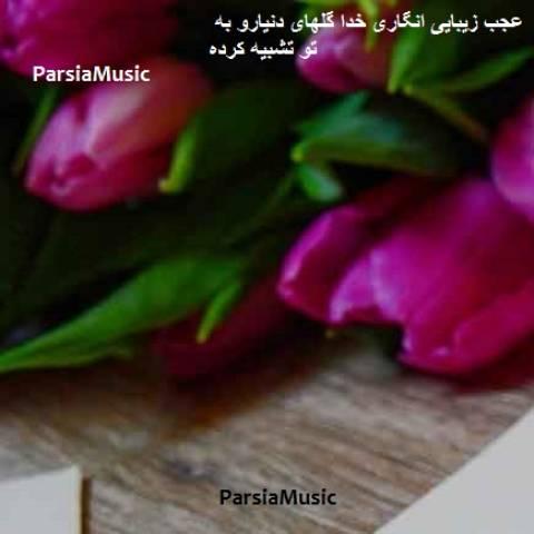 موزیک انگاری خدا گلهای دنیارو به تو تشبیه کرده